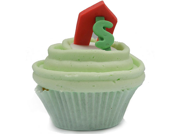 Cup Cake design for Realtor promotionl Event